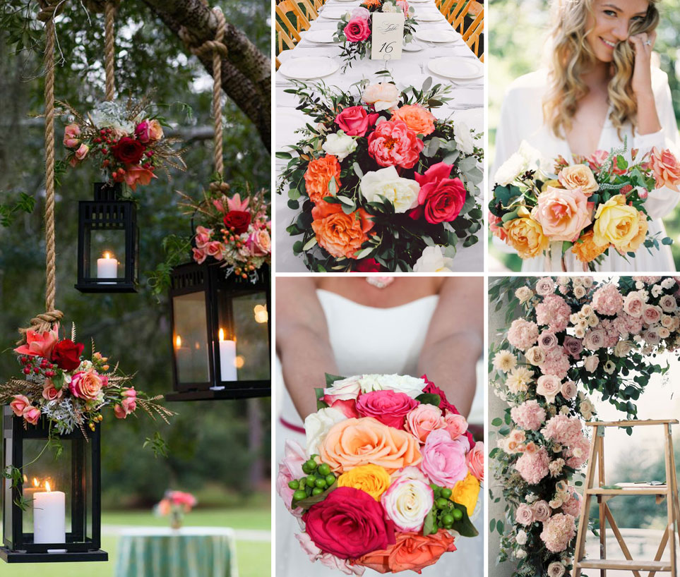 Top 10 Flowers for Outdoor Weddings